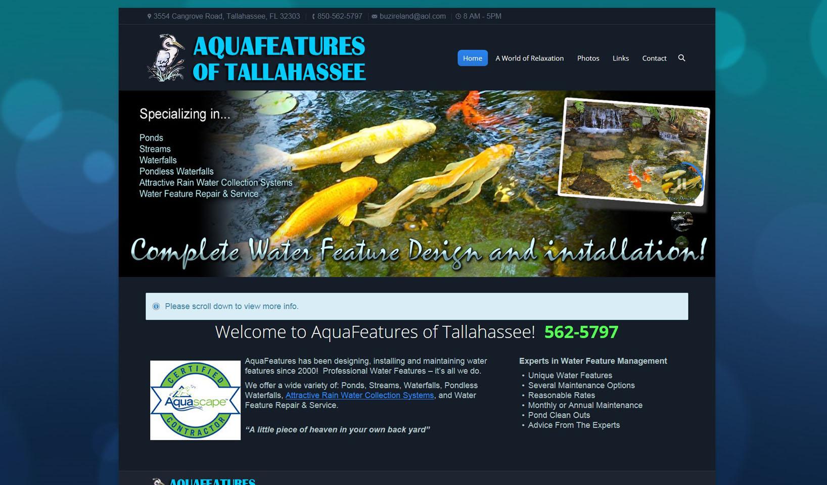 AquaFeatures